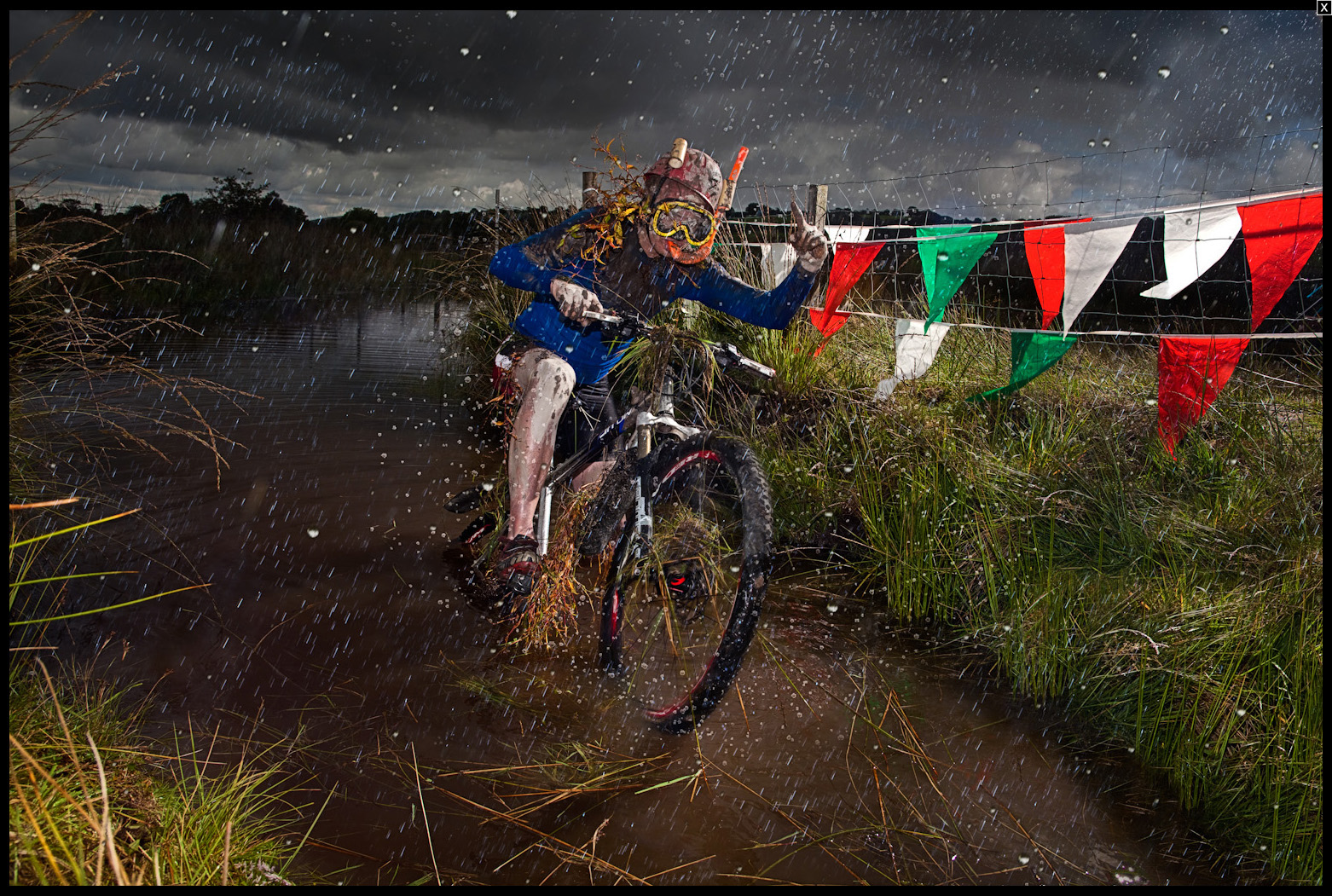 World Bog Cycling Champion