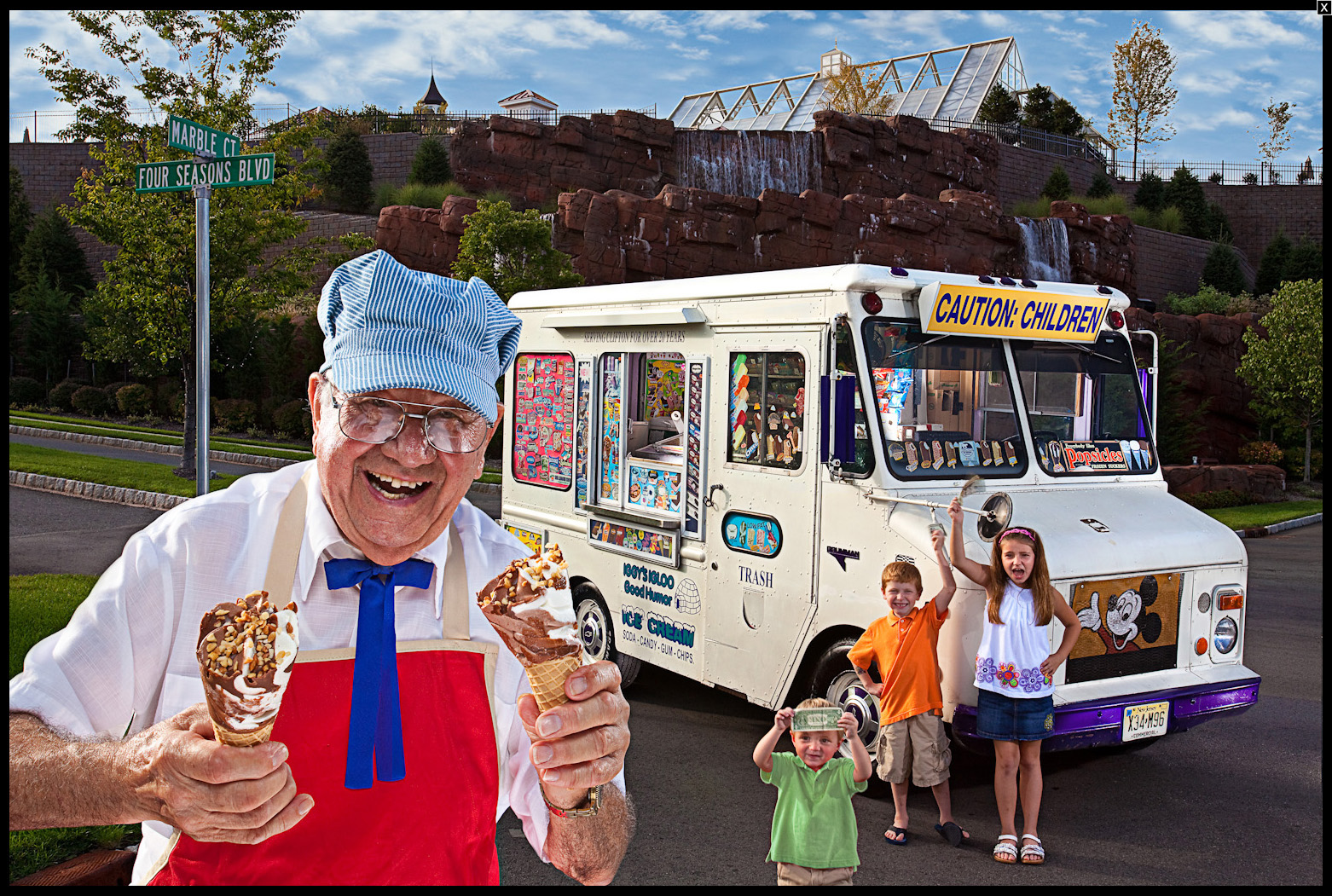 World's Oldest Icecream Man