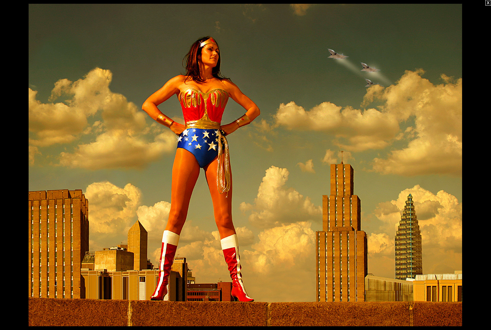 Jayne McGivern - Wonder Woman
